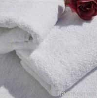 100% white plain bath towel stock lots