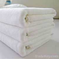 Super cheap cotton white towel stock lot