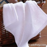 100% cotton cheap hand towel stock