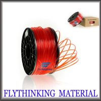 sell PLA and ABS filaments various colors for 3D printing