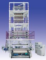 three layer film blowing machine with IBC Cooling system
