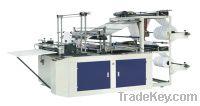 Sell cold cutting bag making machine