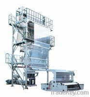 Sell Model SJ-FMD LDPE high speed film blowing machine