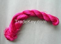 Sell hand-dyed natural silk embroidery floss threads for hand embroidery