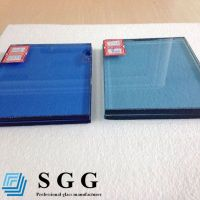 Sell Best Supply blue laminated glass