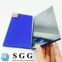Sell Best Supply dark blue reflective glass with good price