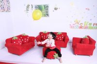Kids furniture/kids upholstered chair/toddler stool and ottoman/children sofa