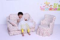 Children furniture/kids upholstered chair/toddler stool and ottoman/children sofa