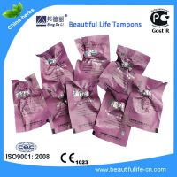 Beautiful life tampons for vaginitis, vagina itching, yeast infection with Gost R cert