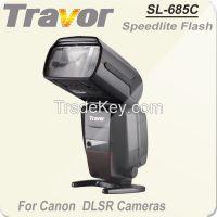 Hot Selling SL-685C full fuction on camera speedlite flash for canon dslr