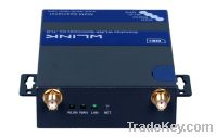 Industrial WCDMA/UMTS 3G WiFi Router, 1xWAN, 1xLAN