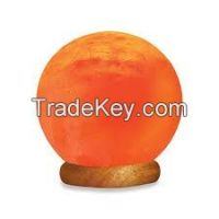 HIMALAYAN ROCK SALT LAMP (WORLD GLOBE)