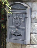 outdoor mailbox cast alluminum