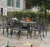 garden table chair cast iron