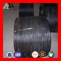 supply 18 gauge black annealed wire/soft iron rod