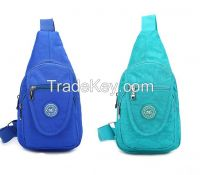 factory price nylon fabric chest bags