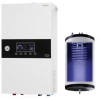 Electric boiler with buil-in 50 liter tank