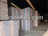 dry wall partition gypsum ceiling tile