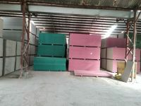 Plaster board for dry wall partition