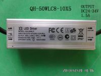 waterproof LED driver 50W 45W 40W 35W 1.5A 7-10S-5PX1 CE QiHan constant current power supply lighting transformer  PF0.95