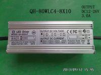 Qihan LED driver 80W7-10S-8PX1-watt LED 2.4A 2400mA all aluminum case waterproof power supply transformer  high PF CE