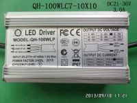 Waterproof LED driver 100W 90W 80W 3A 7-10S-10PX1 CE Qihan all aluminum case constant current power supply lighting transformer