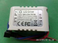 LED driver 7W 6W 5W 4W 0.3A 300mA 4-7S-1PX1 QiHan housing constant current power supply lighting transformer
