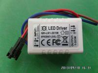 LED driver 1W 2W 3W 0.3A 300mA 1-3S-1PX1 QiHan built-in power supply lighting transformer