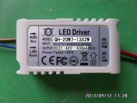 LED driver 20W 19W 18W 15W 12W 10W 0.43A 430mA 7-13S-1PX2 QiHan Housing constant current power supply lighting transformer