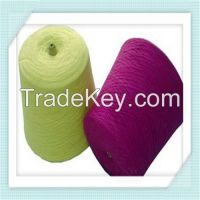90% acrylic 10% cashmere blend yarn 20s/3