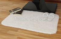 Luxury White Hotel Bath Mat