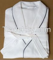 Cotton Dressing Waffle Robe
