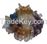 Crystal Ornaments Liu li Orchid Ashtray