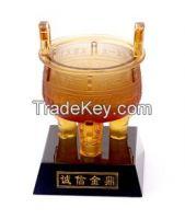business gift wholesale custom liu li honesty Ding