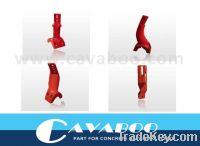 Sell concrete mixer arm for concrete batching plant