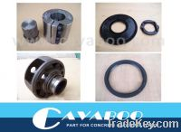 Sell seals of shaft end for concrete mixer