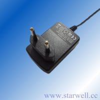 UL certificated 9V 1A power adapter / switching power supply for CCTV Camera