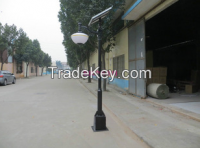 Factory sale Europe type style outdoor LED courtyard lamp solar garden light  led street light  Street light custom