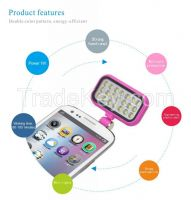 2016 Year Fashion 3.5mm Flash Fill light For phones