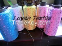 sell all kinds of beautiful fancy sequin yarn