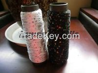 sell various colours of fancy sequin yarn