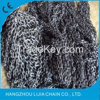 Black finished g80 alloy chain for chain hoist