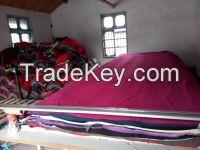 uncut various fabrics