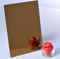 Silver/golden mirror acrylic sheet