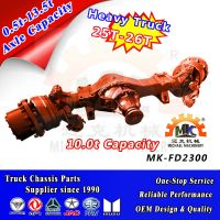 Truck Front Steering Drive Axles with Hub Reducer