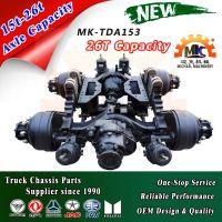 Heavy Truck Tandem Drive Axles for 6wd 26ton-30ton GVW