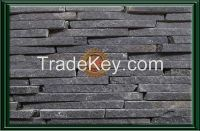 ANDESITE RIVEN WALLING