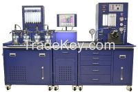 Common Rail Injector and Pump Testing Equipment with Flow Sensors Equipped