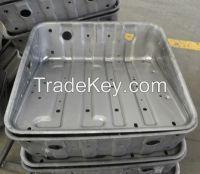Custom heavy engineering fabrication made by 2000T hydraulic press machine