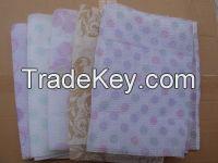 printed beauty skin cloth exfoliating wash cloth printed bath towel